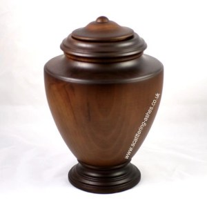 wooden urns ashes cremation