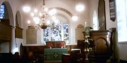 cremation service church