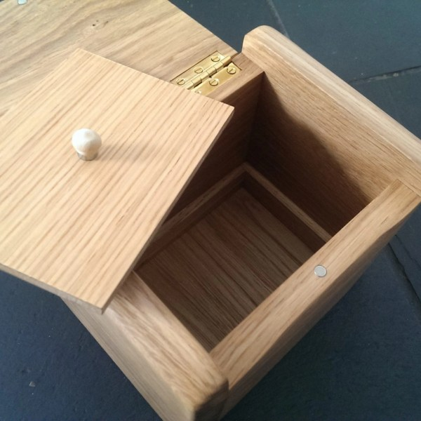 Keepsake Jewellery Box urn with hidden compartment for ashes