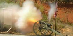 cannon used to scatter ashes