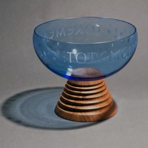 glass keepsake urn
