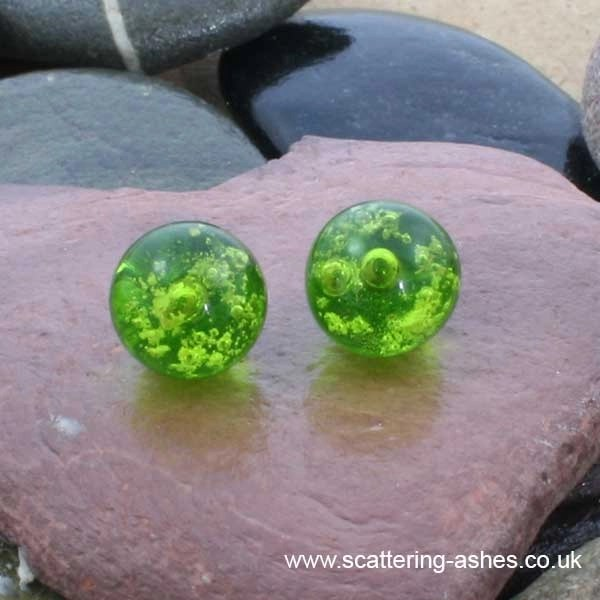 ashes earrings
