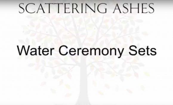 Water ceremony set