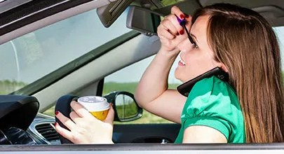 Distracted Driving and Auto Insurance Scotia NY