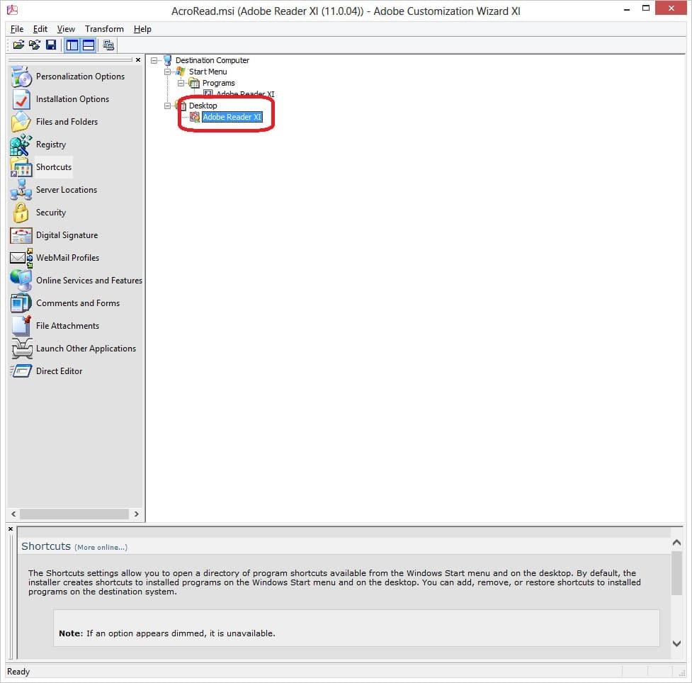 View full description. Adobe Reader
