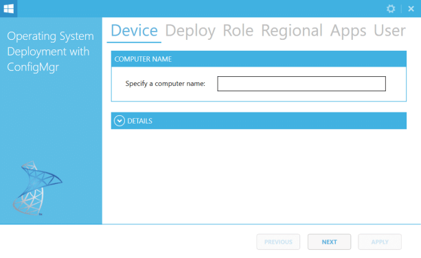 ConfigMgr OSD FrontEnd – Version 1.1.0 released
