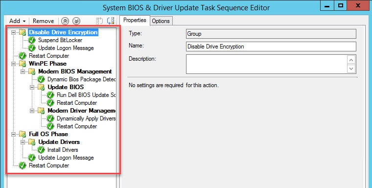 Maintaining BIOS & Drivers Post Windows Deployment | | System Center