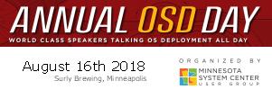MNSCUG OSD Day 2018