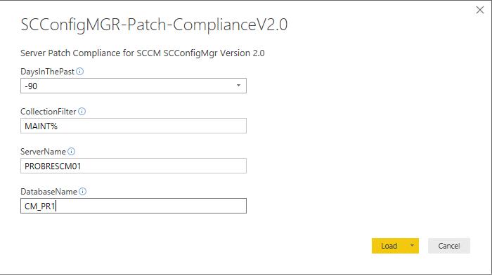 SCConfigMgr Software Update Compliance Dashboard – Version