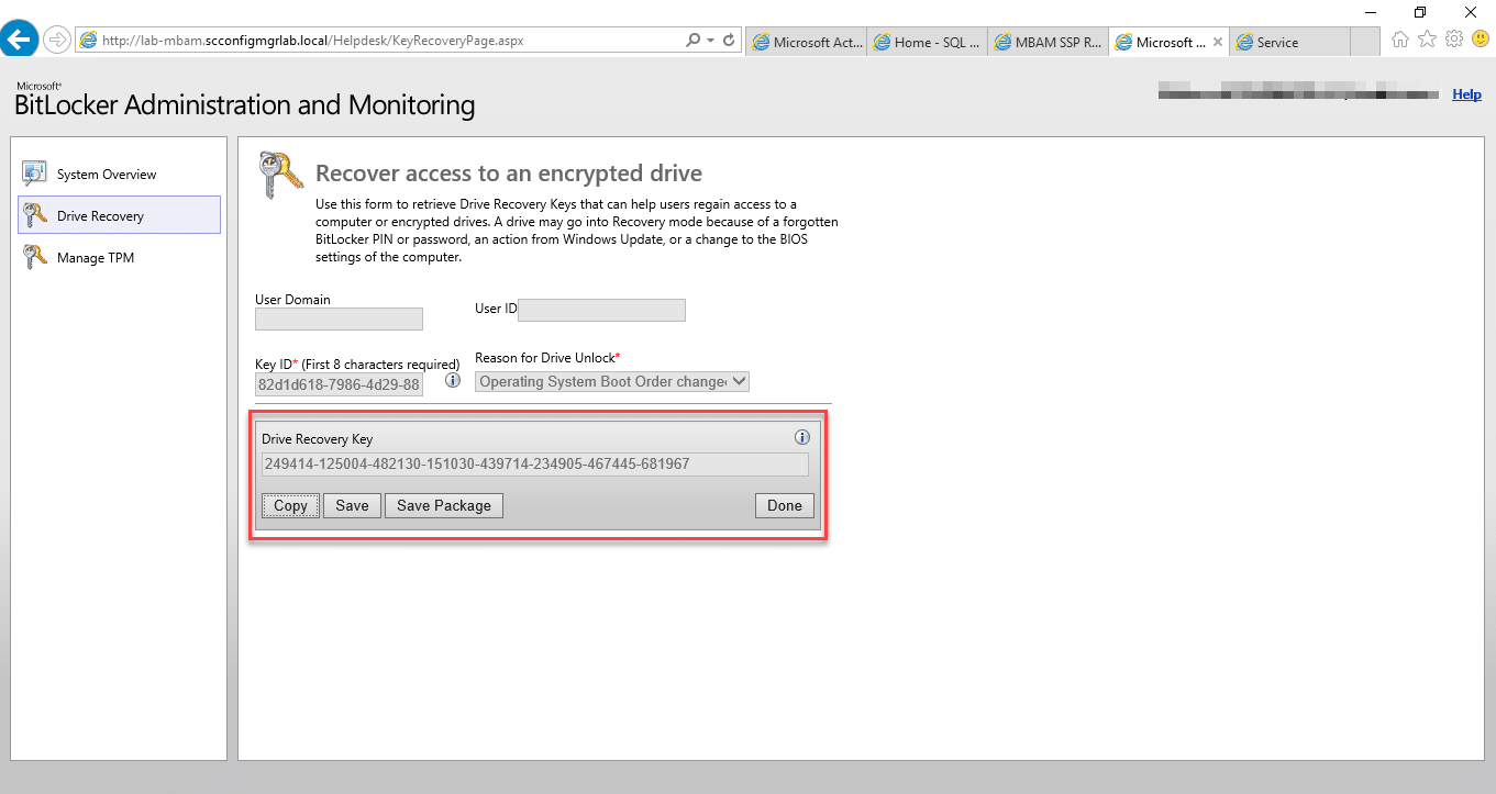 Step by Step: Microsoft BitLocker Administration and Monitoring
