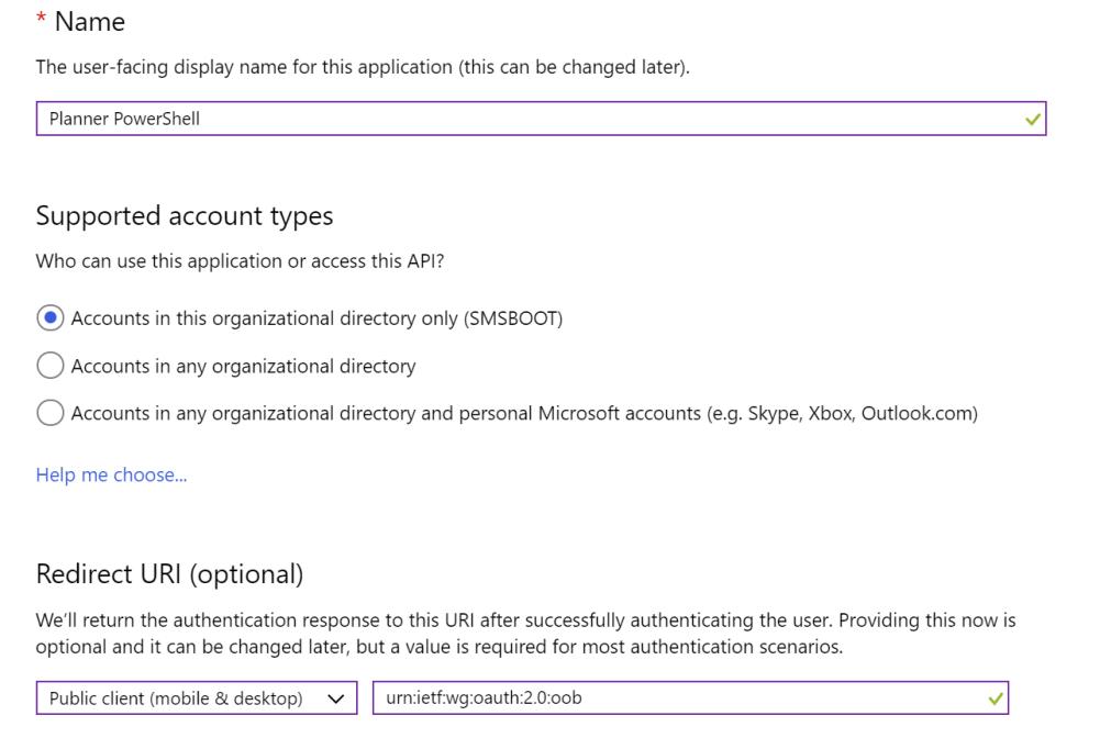PowerShell Module for Microsoft Planner     System Center