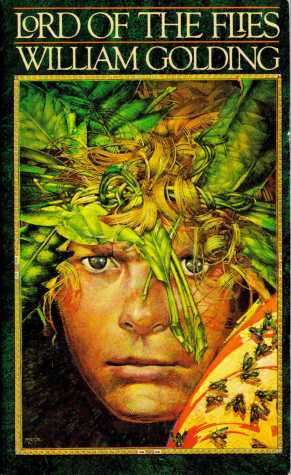 "Dym's illustration teacher was the man who designed this cover of ""Lord of the Flies."""