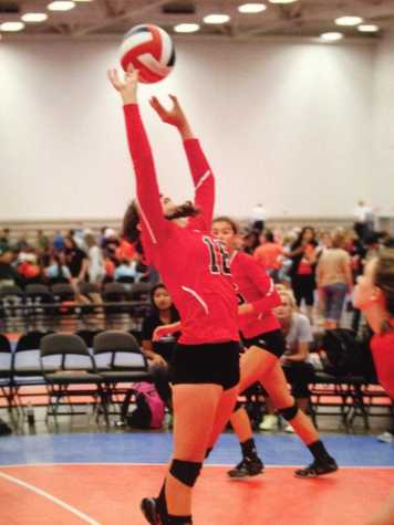 Mathisen played at Junior Olympics this summer for her club volleyball team, Five Starz, which placed 17th overall in the nation. Mathisen also plays on the SCDS varsity team.