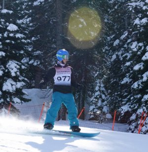 Skiers Procida, Fineberg place first, fourth; freshman skier disqualified after suffering crash