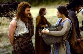 L'assassinat de la femme de William Wallace par un officier anglais sera le Call to Adventure de Wallace