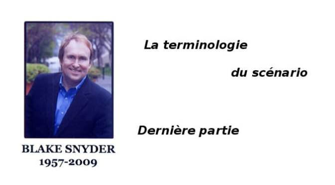 LE SCENARIO SELON BLAKE SNYDER (3)