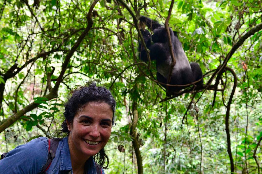 Uganda gorilla trekking safari - fly-in