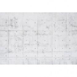 papier peint trompe l oeil beton gris