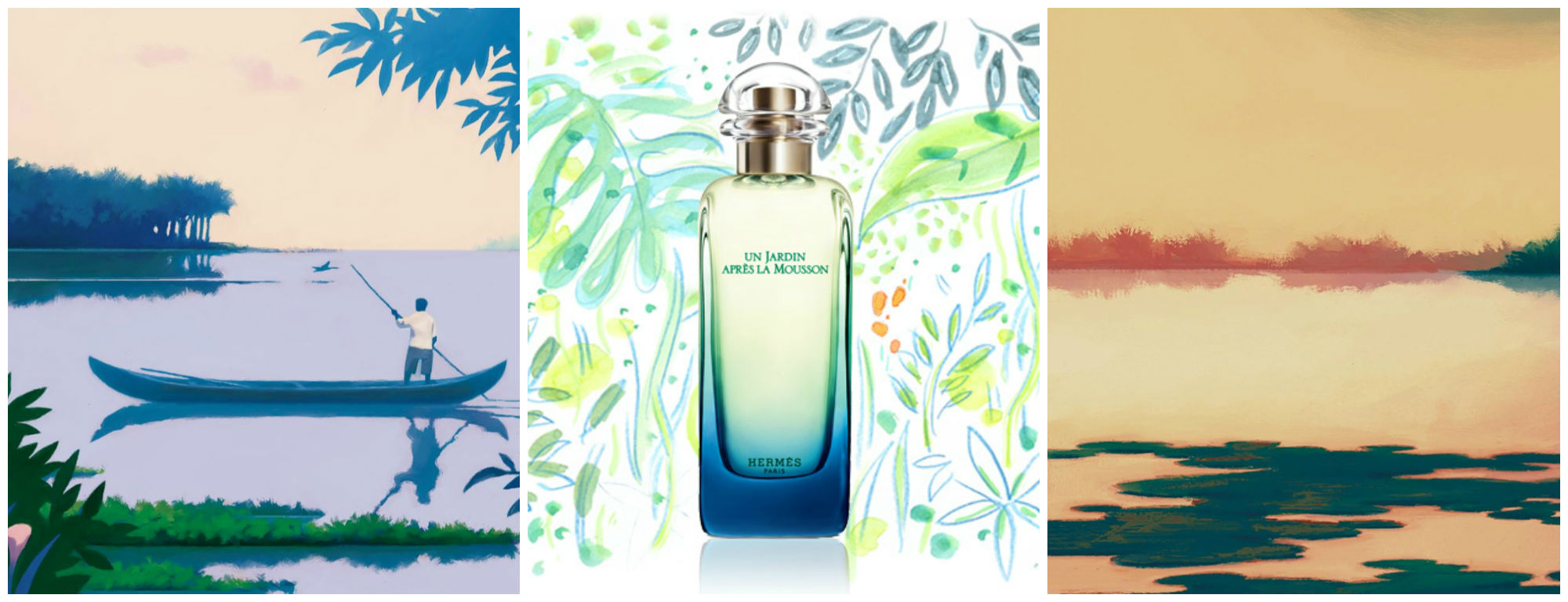 Perfume of the Day: Hermes Un Jardin Apres La Mousson