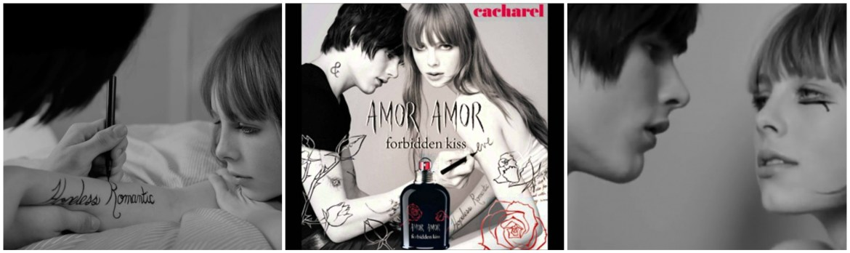 Amor Amor Forbidden Kiss Perfume by Cacharel