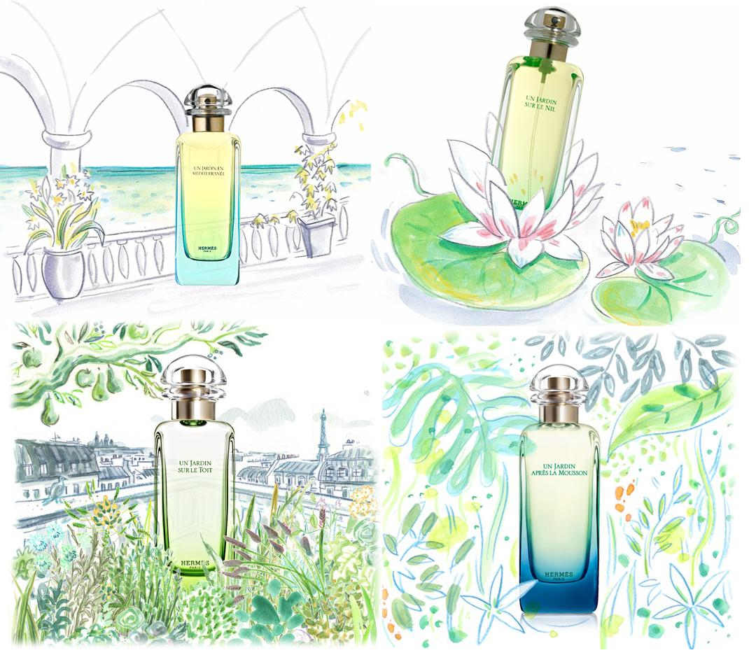 Hermes' Un Jardin Collection