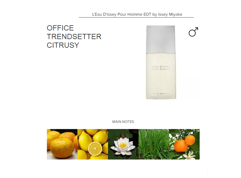 L'Eau D'Issey Pour Homme EDT by Issey Miyake