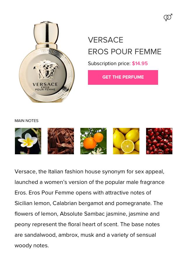 Floral Perfume Versace