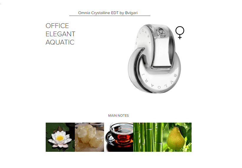Omnia Crystalline EDT by Bvlgari