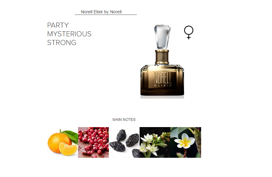 Norell Elixir by Norell