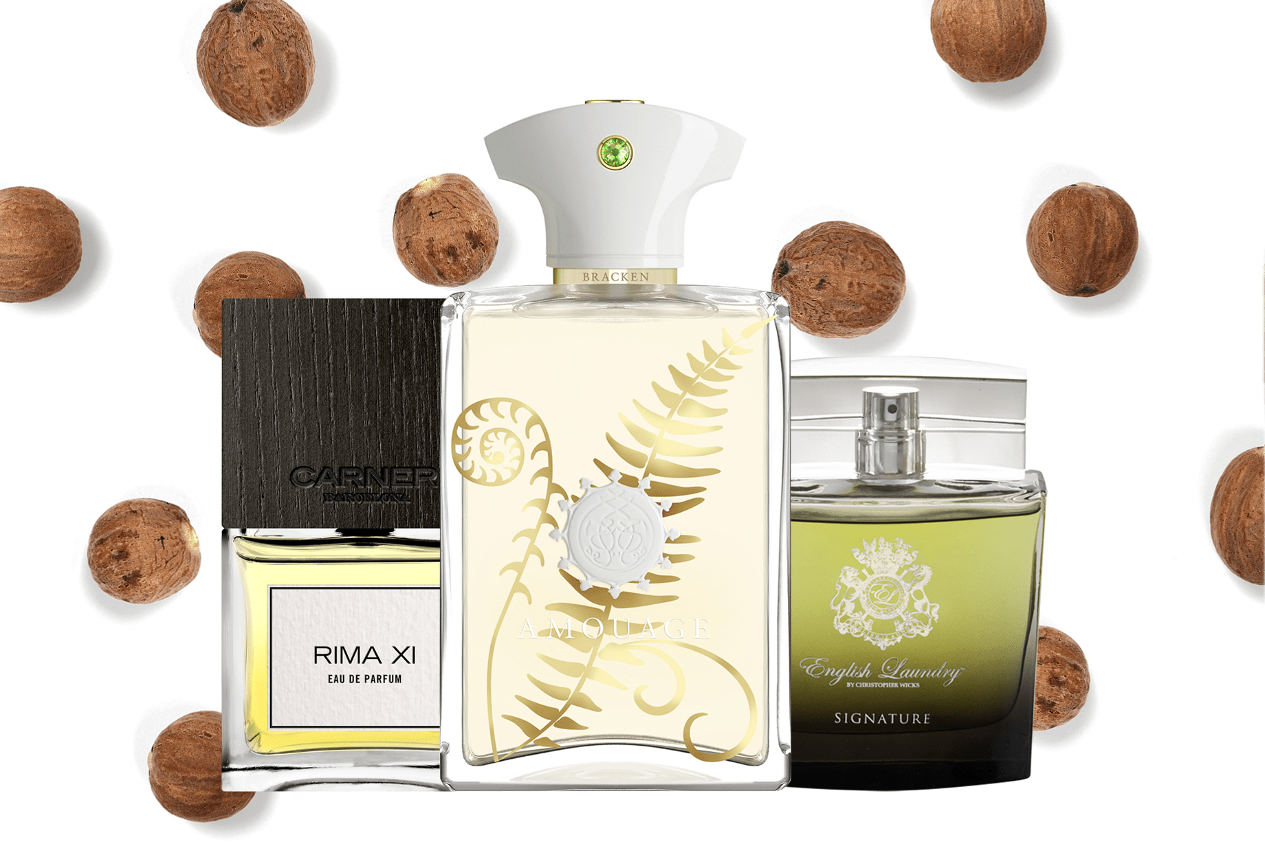 The scent of Christmas joy: Nutmeg