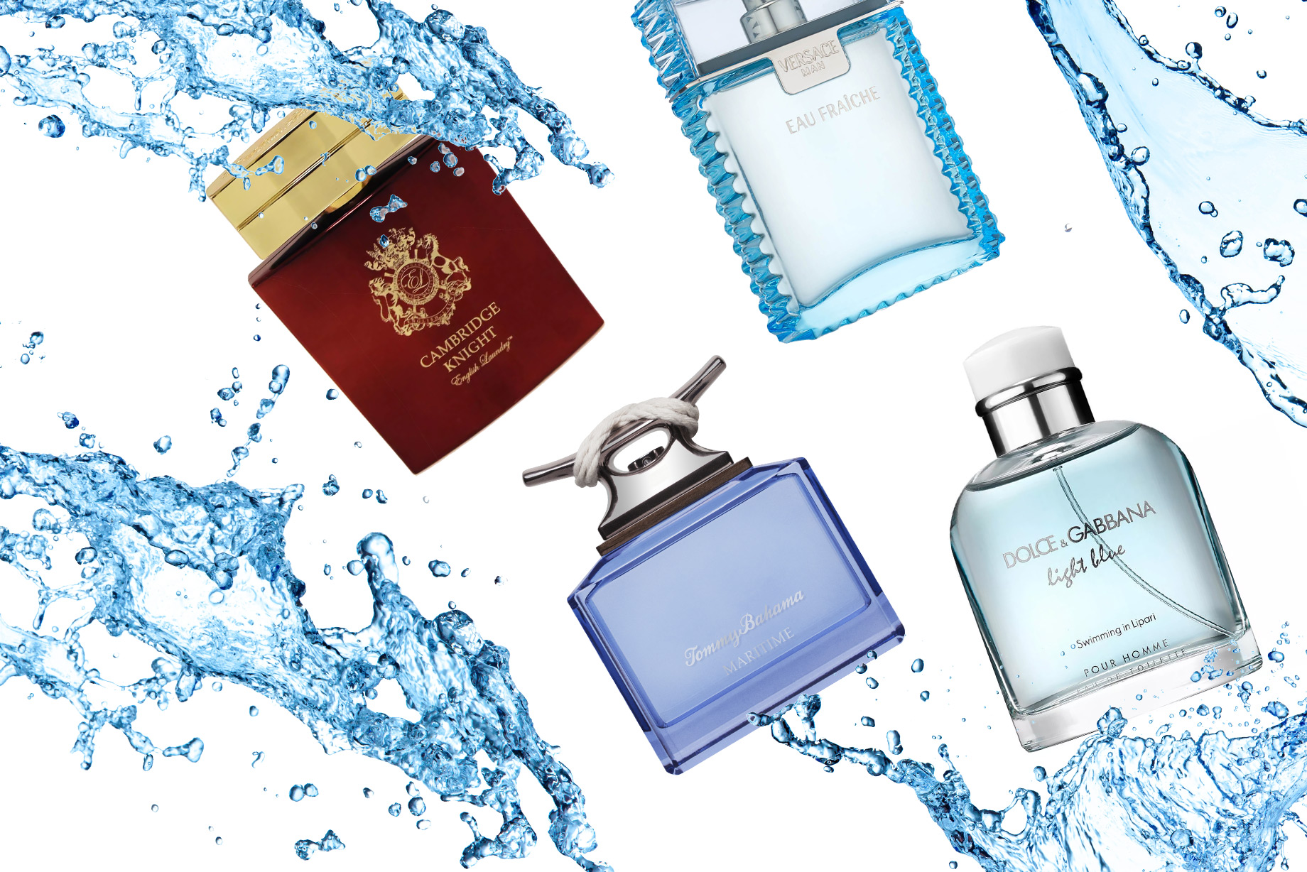 Dive Into Summer: Aquatic Scents for Men