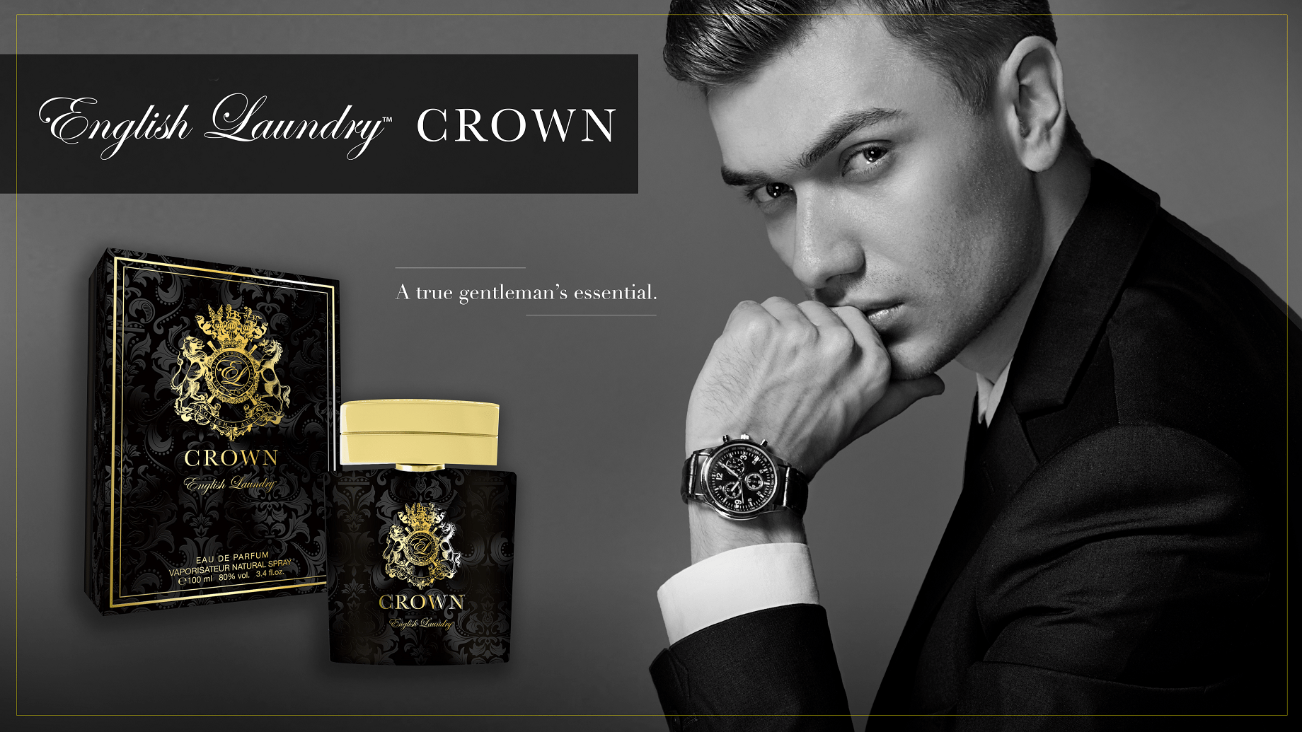 June 2019 Cologne of the Month: English Laundry Crown