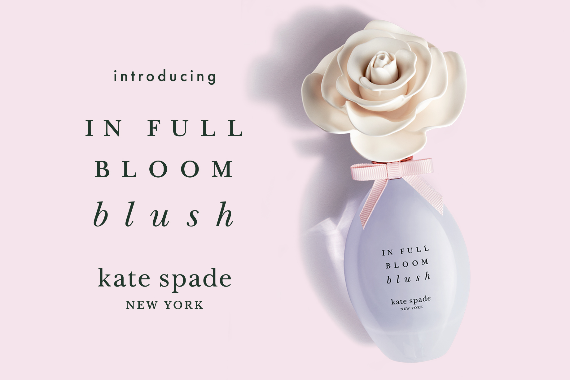 May 2019 Perfume of the Month: kate spade new york in full bloom blush