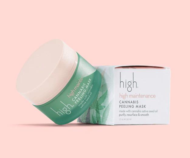 High Cannabis Peeling Mask
