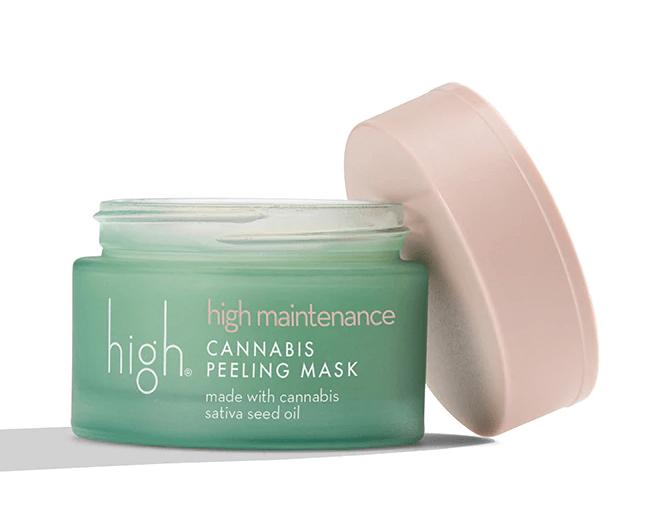 High Cannabis Peeling Mask1