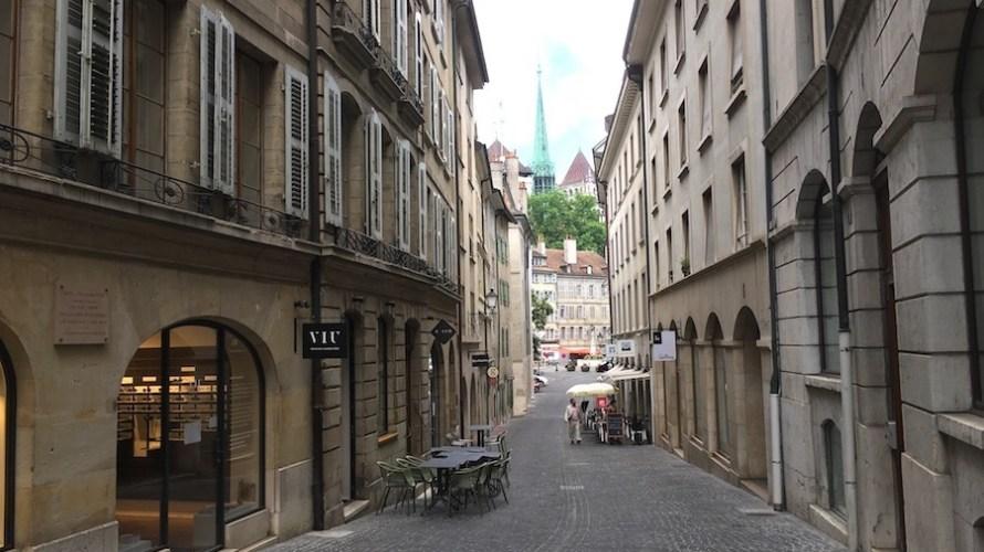 【スイス】ジュネーブは旧市街とバスチョン公園の街歩きがいちばん楽しい
