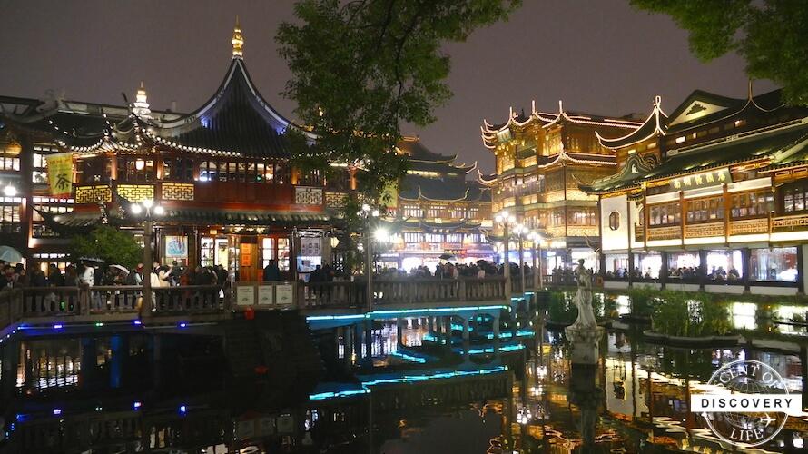 【中国】上海屈指の人気スポット「豫園」周辺は昼と夜の両方行くのがオススメ!