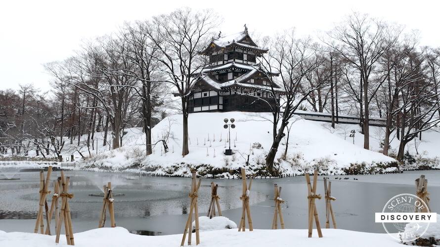 【新潟】桜だけじゃなく雪の高田城も風流です