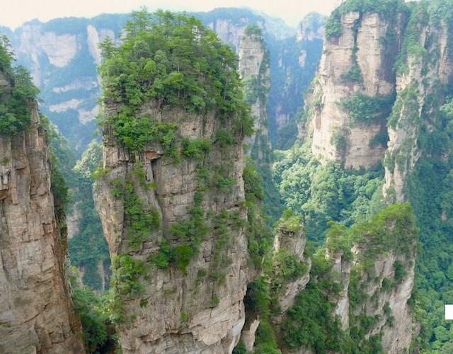【中国】世界遺産「張家界」へツアーでなく個人で行くアクセス方法