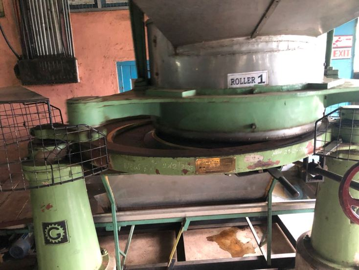 Large tea rolling machine