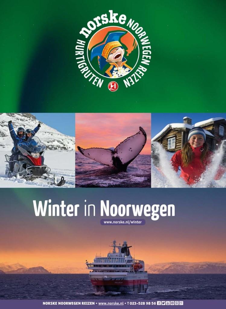 Winter in Noorwegen (map)
