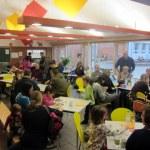 Viele Mitreisende nutzten gern die Cafeteria
