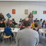 Spieler und Turnierleiter