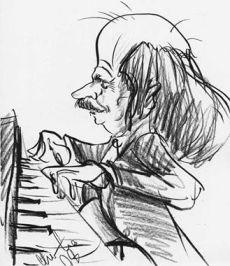 Lothar Arnold am Klavier
