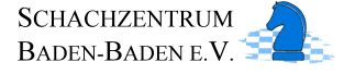 Logo Schachzentrum Baden-Baden