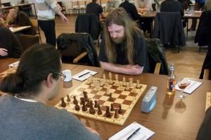 Lutz mit Weiß gegen Franko Mahn