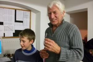 Enrico Eichner und sein Vater Dieter Eichner konnten in einer Runde einen Doppelschlag erzielen; sie gewannen beide, Enrico gegen Roland Hackenberg und Dieter gegen Wilfried Pilgrim.