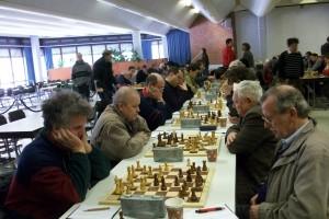 Links sitzt unser Spielleiter Roland Knopf, neben ihm Wilhelm Löhr, Stefan Soost