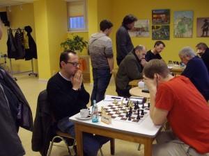 Topscorer Markus Wörz voller Konzentration.