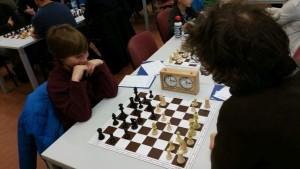 Lennart gewann kampflos... und suchte sich dann ein neuen Gegner.